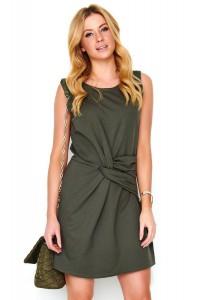 Sukienka khaki z przełożeniem M480