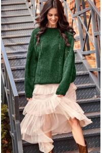 Sweter butelkowa zieleń  NU_S48