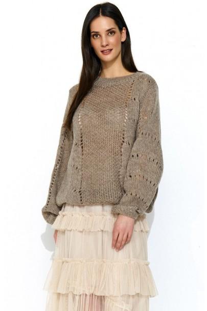 Sweter cappucino NU_S48