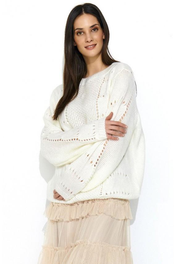 Sweter ecru NU_S48