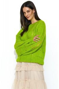 Sweter limonka NU_S48