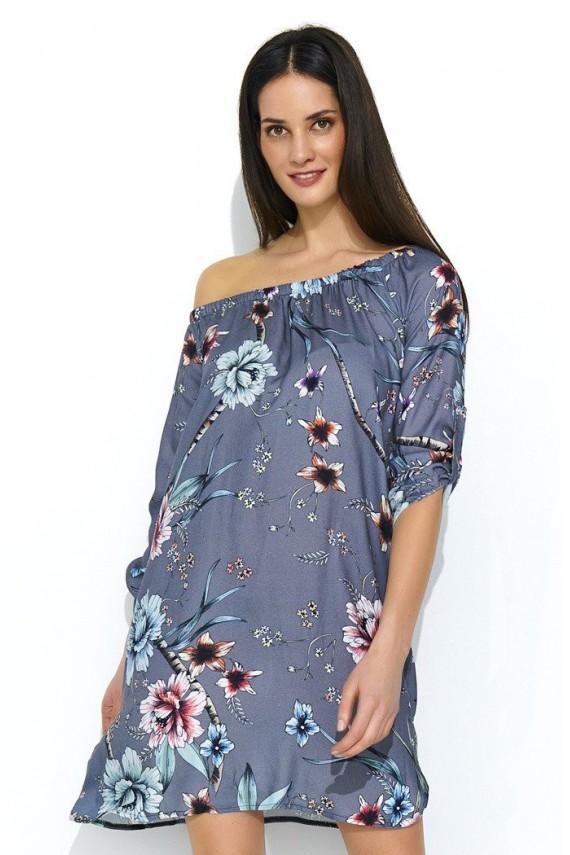Sukienka w kwiaty NU181