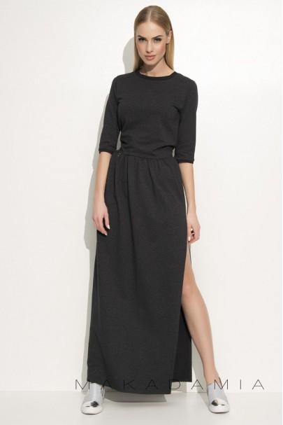 Sukienka Grafitowa M338