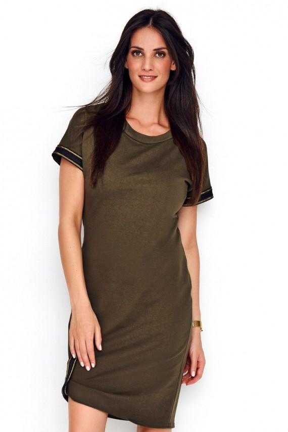 Sukienka khaki NU221