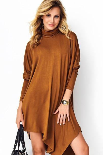 Sukienka camelowa...