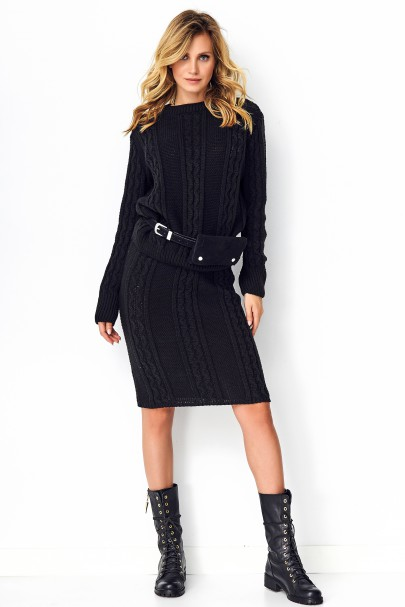 Komplet sweter+spódnica...