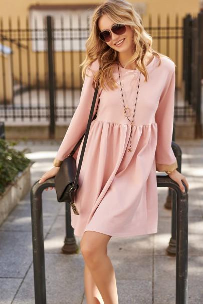 Sukienka z poszerzanymi...