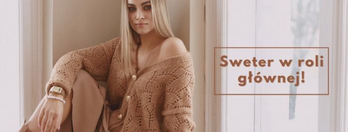 Stylizacje damskie ze swetrem w roli głównej które pasują na każdą okazję